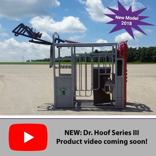 Dr. Hoof Series III Trimming Chute