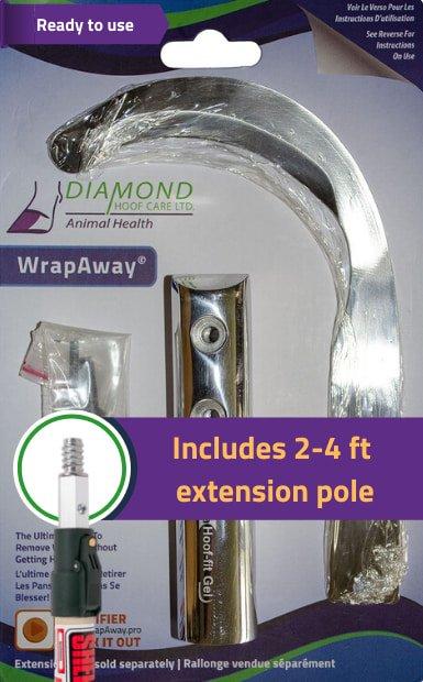 WrapAway Extension pole